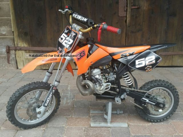 2002 KTM  SX 50 Pro Senior Motorcycle Rally/Cross photo