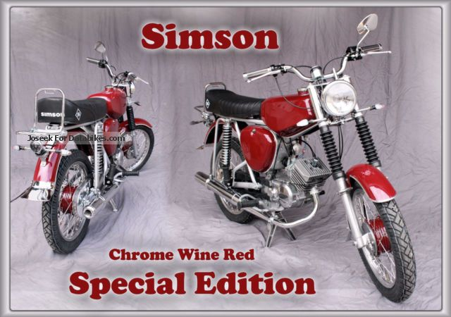 2015 Simson  S 51 Motorcycle Motor-assisted Bicycle/Small Moped photo