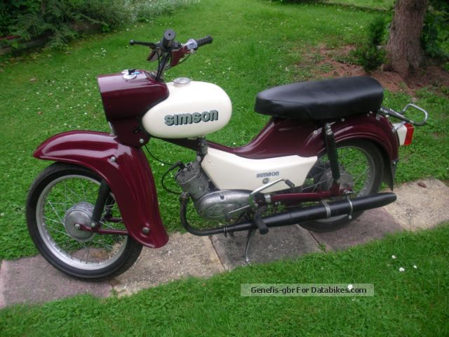 Simson  Star 1971 Vintage, Classic and Old Bikes photo