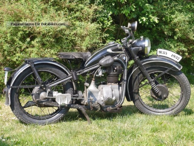 BMW  R35 1937 Vintage, Classic and Old Bikes photo