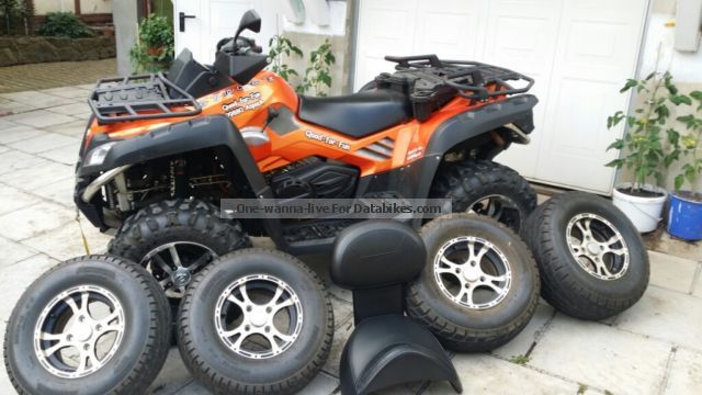 2014 CFMOTO  Terra Lander 800 V2 EFI LOF 4x4 with lots of accessories Motorcycle Quad photo