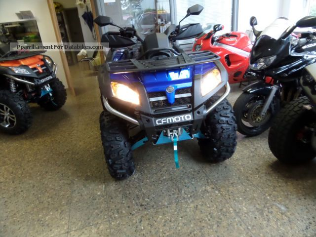 2012 CFMOTO  C-Force 800 BluePower TL 4x4 LOF servo Motorcycle Quad photo
