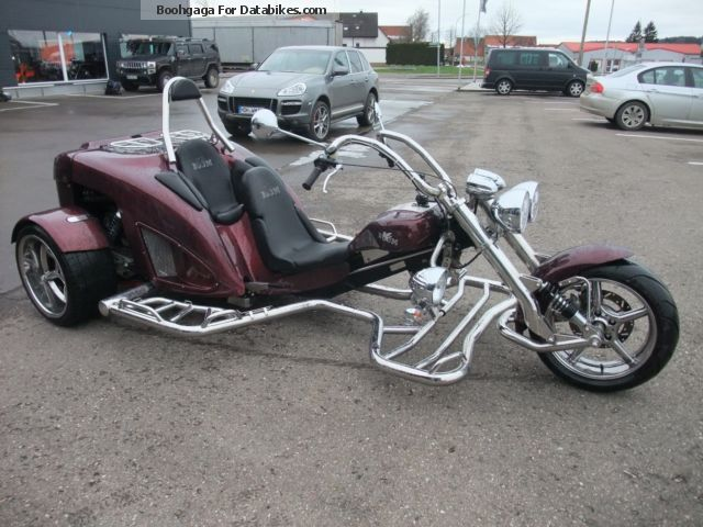 2014 Boom  New Highway & quot; Thunderbird & quot; Motorcycle Trike photo