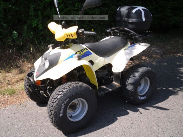 2006 CPI  JW 50 Motorcycle Quad photo