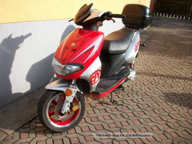 2011 CPI  Husar Cpi 45 Motorcycle Motor-assisted Bicycle/Small Moped photo