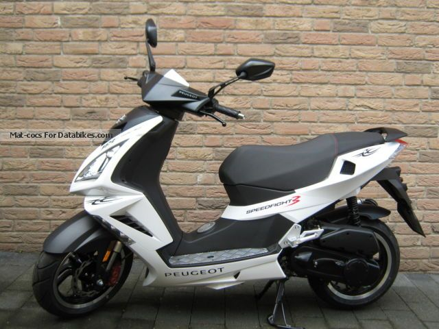 2015 Peugeot  SPEEDFIGHT 3 INCL. MOFA CHOKE, LIKE NEW Motorcycle Scooter photo