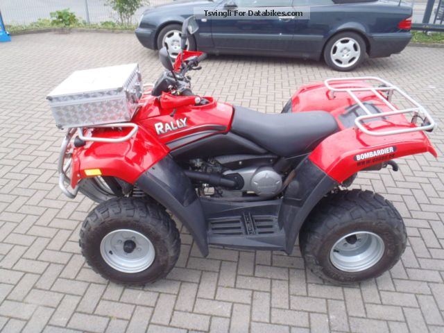 2005 Bombardier  DS 200 Rally Motorcycle Quad photo