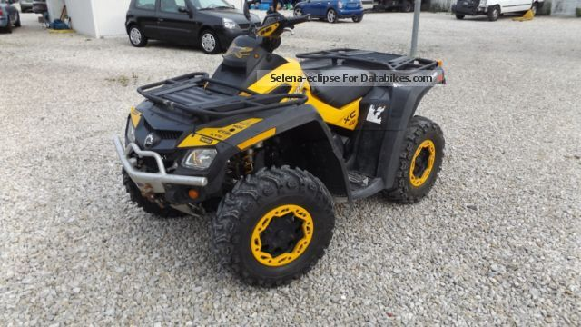 2012 Bombardier  OUTLADER 810 R XXC CAN-AM Motorcycle Quad photo