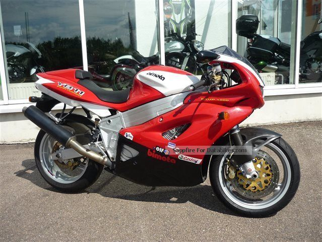 1998 Bimota  YB 11 Superleggera, + one of 650Stk. world + Motorcycle Sports/Super Sports Bike photo